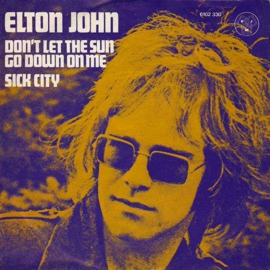 Coverafbeelding Don't Let The Sun Go Down On Me - Elton John