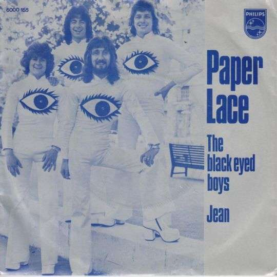 Coverafbeelding The Black Eyed Boys - Paper Lace