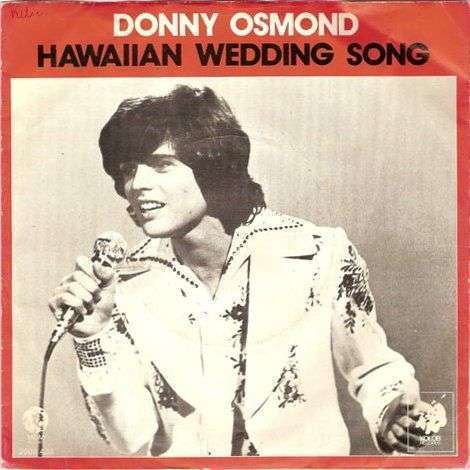 Coverafbeelding Hawaiian Wedding Song - Donny Osmond