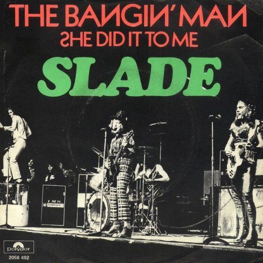 Coverafbeelding Slade - The Bangin' Man