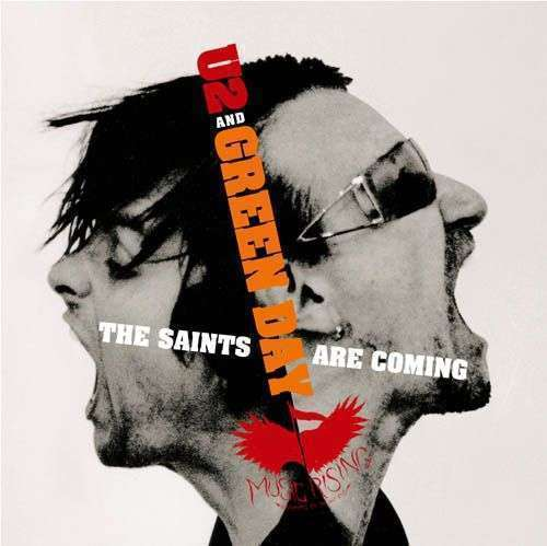 Coverafbeelding The Saints Are Coming - U2 And Green Day