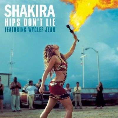 Coverafbeelding Hips Don't Lie - Shakira Featuring Wyclef Jean
