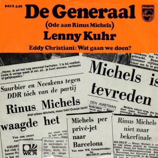 Coverafbeelding Lenny Kuhr - De Generaal (Ode Aan Rinus Michels)