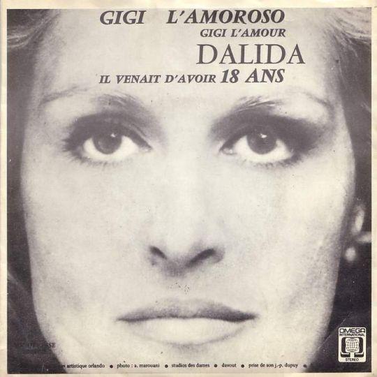 Coverafbeelding Gigi L'amoroso - Gigi L'amour - Dalida