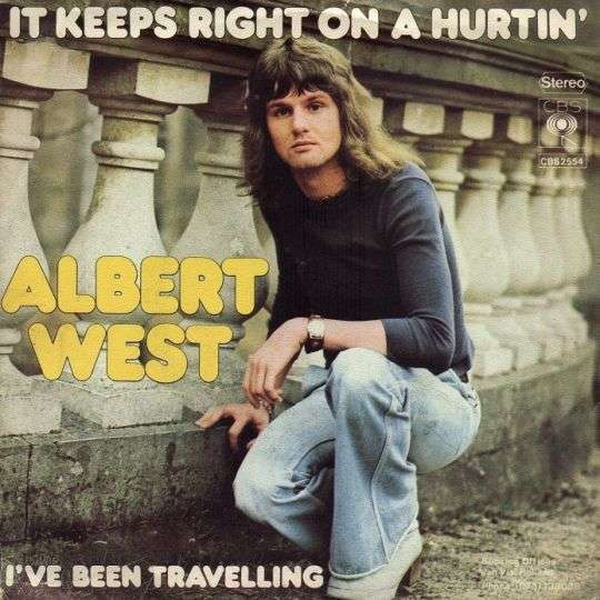 Coverafbeelding It Keeps Right On A Hurtin' - Albert West