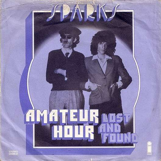 Coverafbeelding Amateur Hour - Sparks