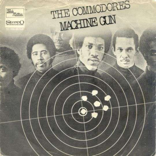 Coverafbeelding Machine Gun - The Commodores