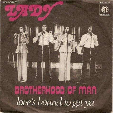 Coverafbeelding Lady - Brotherhood Of Man