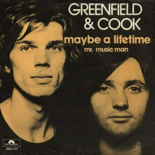 Coverafbeelding Greenfield & Cook - Maybe A Lifetime