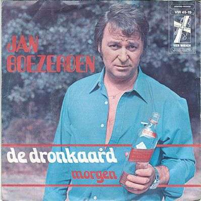 Coverafbeelding De Dronkaard - Jan Boezeroen