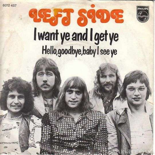 Coverafbeelding I Want Ye And I Get Ye - Left Side