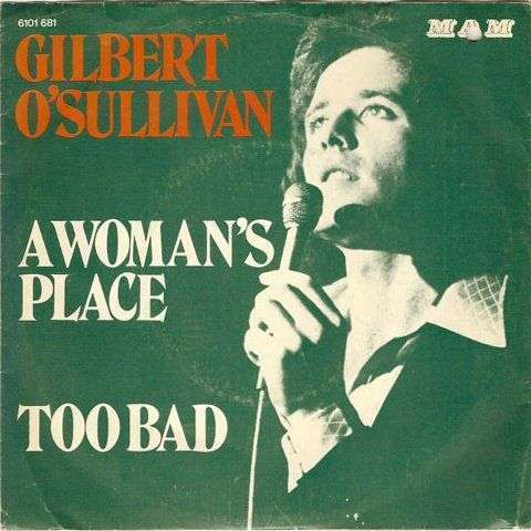 Coverafbeelding A Woman's Place - Gilbert O'sullivan