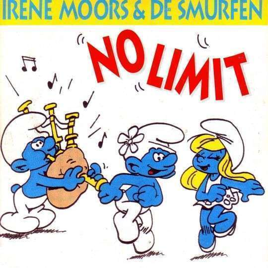 Coverafbeelding No Limit - Irene Moors & De Smurfen