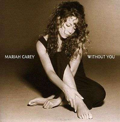 Coverafbeelding Mariah Carey - Without You