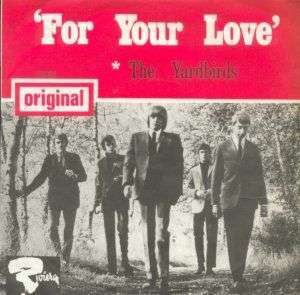 Coverafbeelding For Your Love - The Yardbirds
