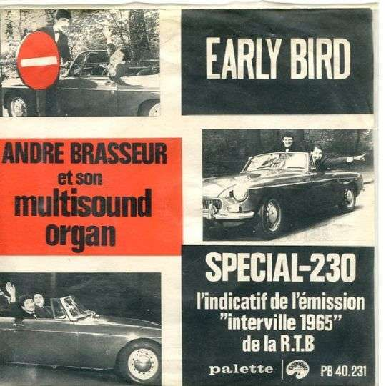 Coverafbeelding Andre Brasseur et Son Multisound Organ - Early Bird