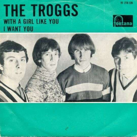 Coverafbeelding With A Girl Like You - The Troggs