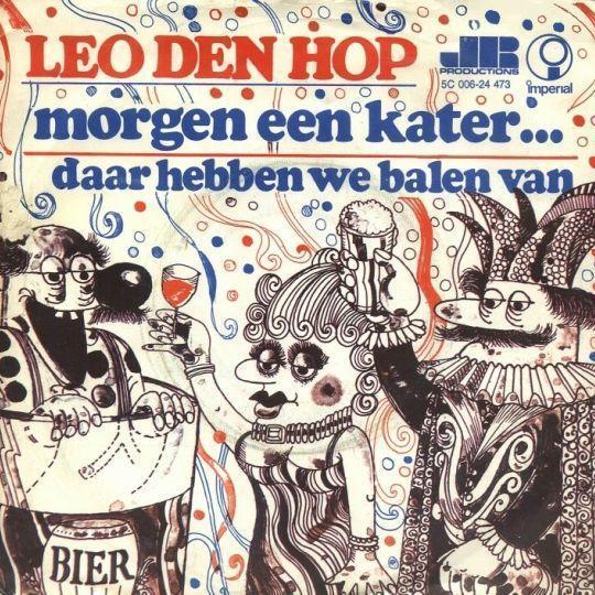 Coverafbeelding Morgen Een Kater... - Leo Den Hop