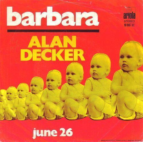 Coverafbeelding Alan Decker - Barbara
