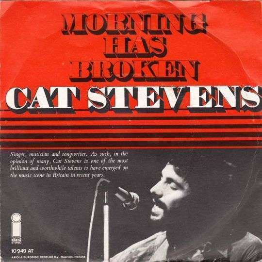 Coverafbeelding Morning Has Broken - Cat Stevens