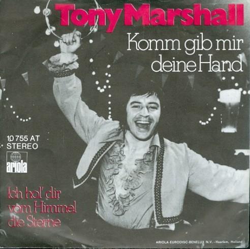 Coverafbeelding Komm Gib Mir Deine Hand - Tony Marshall