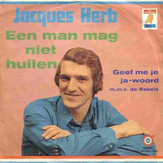Coverafbeelding Een Man Mag Niet Huilen - Jacques Herb
