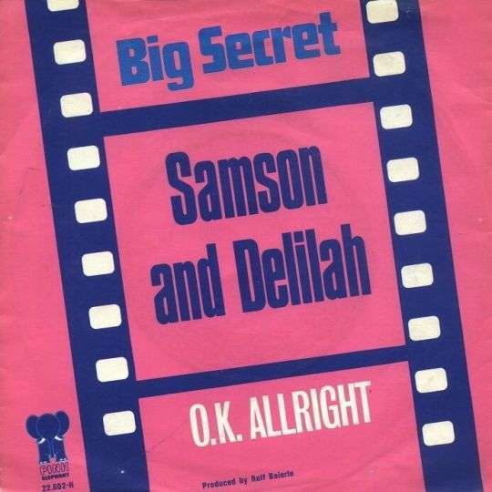 Coverafbeelding Big Secret - Samson And Delilah