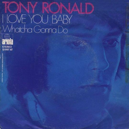 Coverafbeelding Tony Ronald - I Love You Baby
