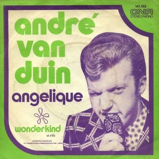 Coverafbeelding Angelique - André Van Duin