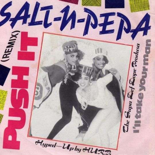 Coverafbeelding Salt-N-Pepa - Push It