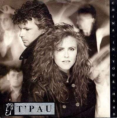 Coverafbeelding China In Your Hand - T'pau