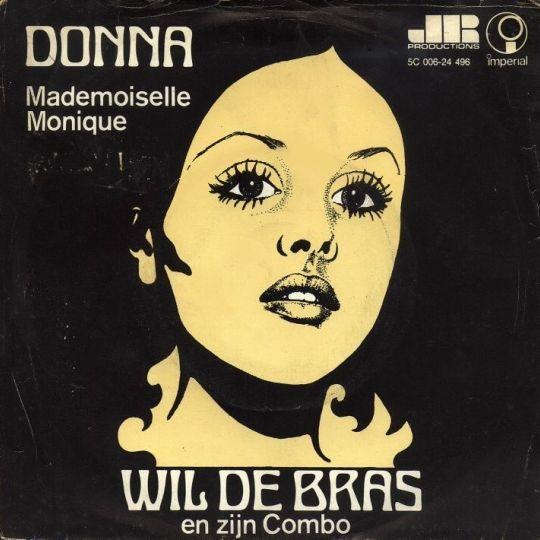 Coverafbeelding Wil De Bras en Zijn Combo - Donna