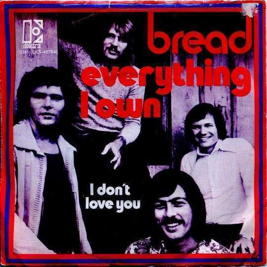Coverafbeelding Everything I Own - Bread
