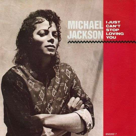 Coverafbeelding I Just Can't Stop Loving You - Michael Jackson
