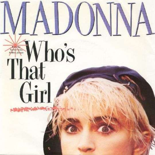 Coverafbeelding Who's That Girl - Madonna