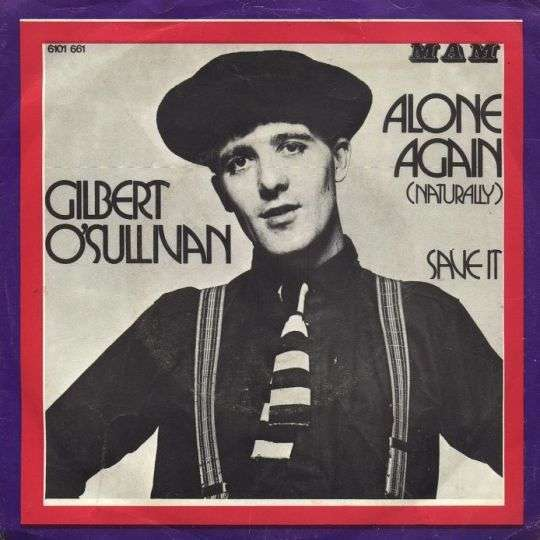 Coverafbeelding Alone Again (Naturally) - Gilbert O'sullivan