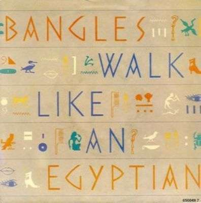 Coverafbeelding Bangles - Walk Like An Egyptian