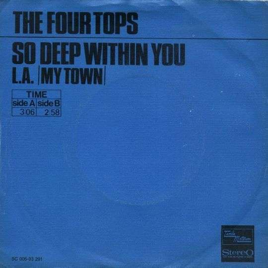 Coverafbeelding So Deep Within You - The Four Tops