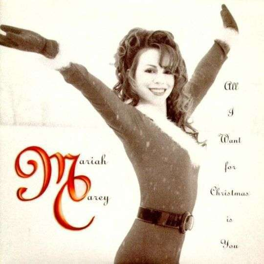 Coverafbeelding Mariah Carey - All I Want For Christmas Is You