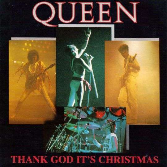 Coverafbeelding Queen - Thank God It's Christmas