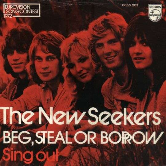 Coverafbeelding Beg, Steal Or Borrow - The New Seekers