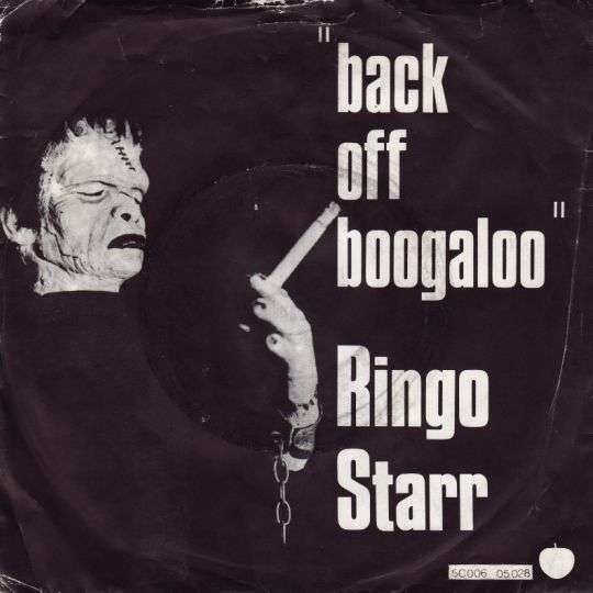 Coverafbeelding Back Off Boogaloo - Ringo Starr