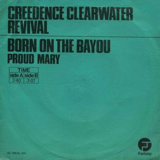 Coverafbeelding Born On The Bayou - Creedence Clearwater Revival