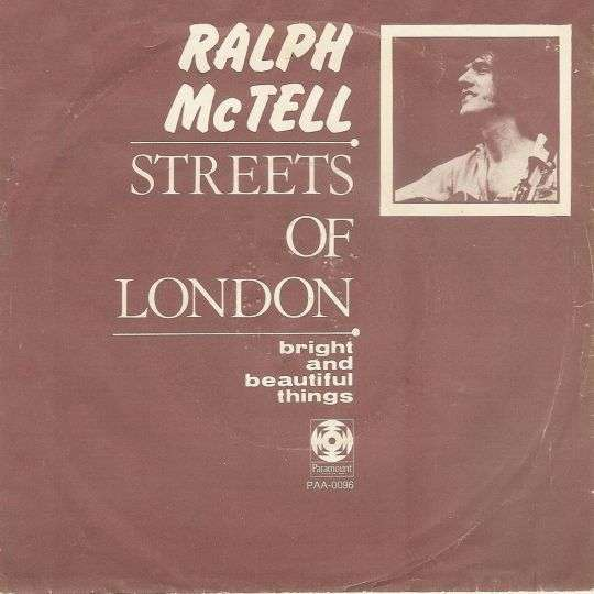 Coverafbeelding Ralph McTell - Streets Of London