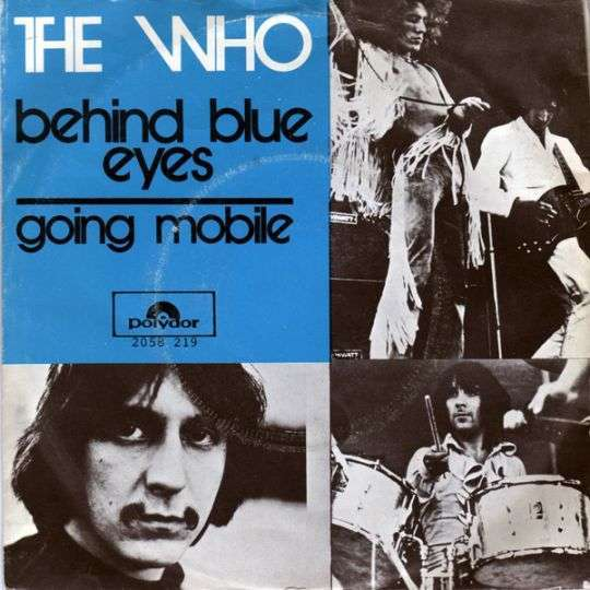 Coverafbeelding Behind Blue Eyes - The Who