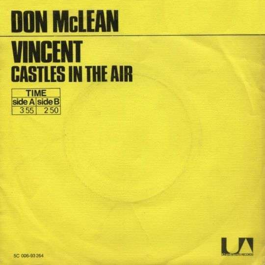 Coverafbeelding Vincent - Don Mclean