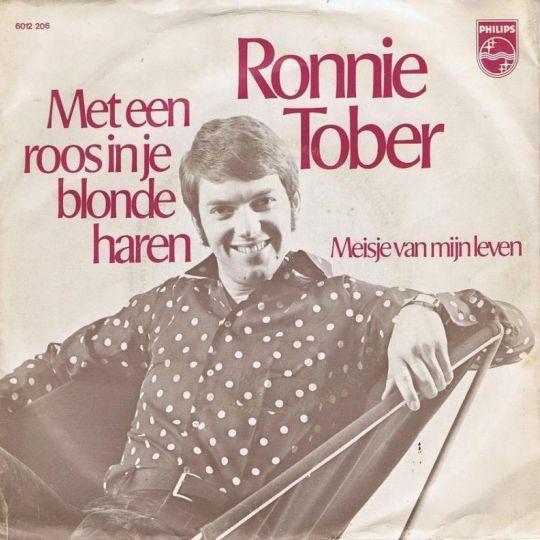 Coverafbeelding Met Een Roos In Je Blonde Haren - Ronnie Tober