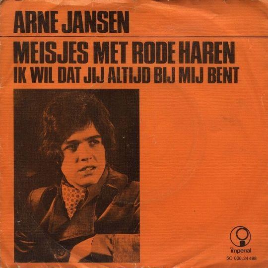 Coverafbeelding Meisjes Met Rode Haren - Arne Jansen