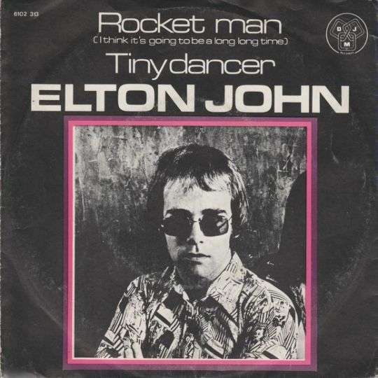 Coverafbeelding Rocket Man (I Think It's Going To Be A Long Long Time) - Elton John