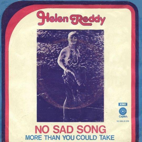 Coverafbeelding No Sad Song - Helen Reddy